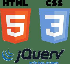 HTML5 + CSS3 + jQuery logos