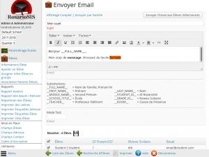 Screenshot Module Email