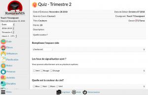 Screenshot Module Quiz