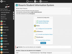 Screenshot plugin Assistant de Configuration